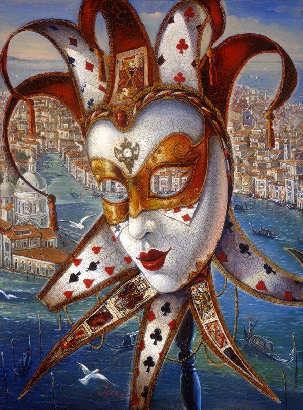 Memories of Summer Venice Painting