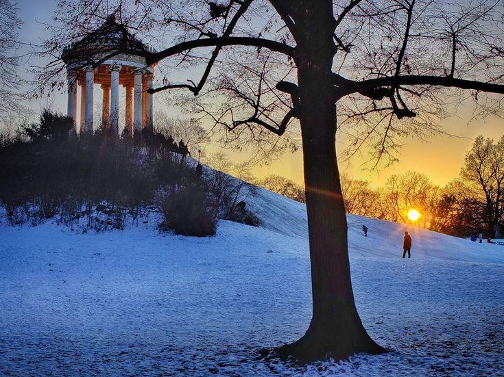https://flic.kr/p/RSu9aA   Sunset at Englischer Garten, Munich