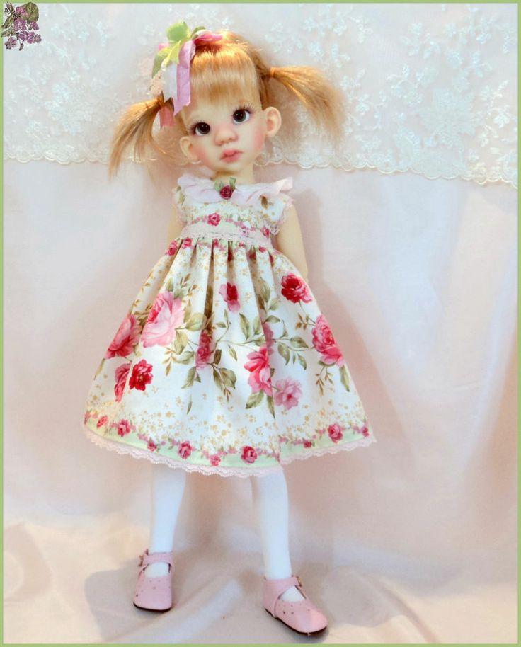 """""""Beauty Of May """"  Dress  for Kaye Wiggs Talyssa, Mei mei  MSD BJD."""
