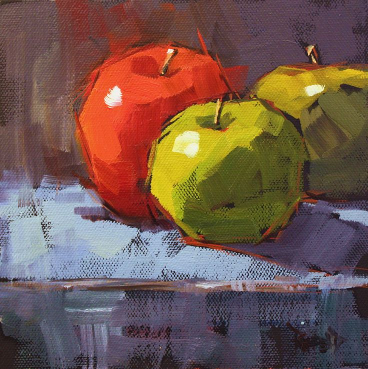 cathleen rehfeld • Daily Painting: Red Green - sold