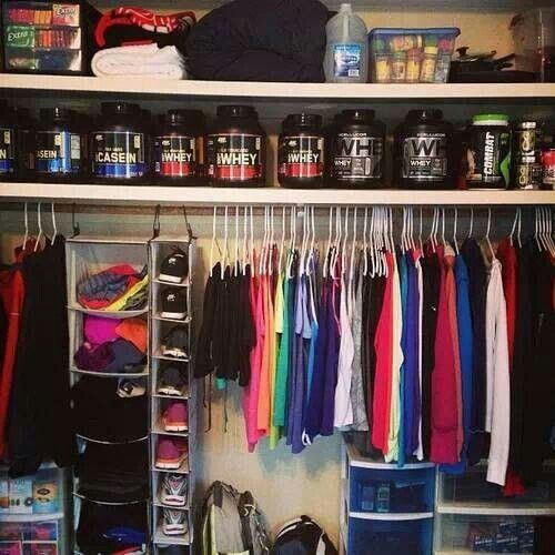 Workout closet  To Inspire  Fitness motivation Workout