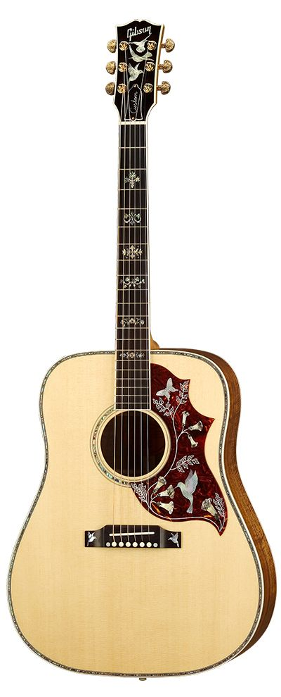 Vintage 60s Hummingbird. One day it will be mine. Might need to learn more than 2 songs on the guitar to justify it though.