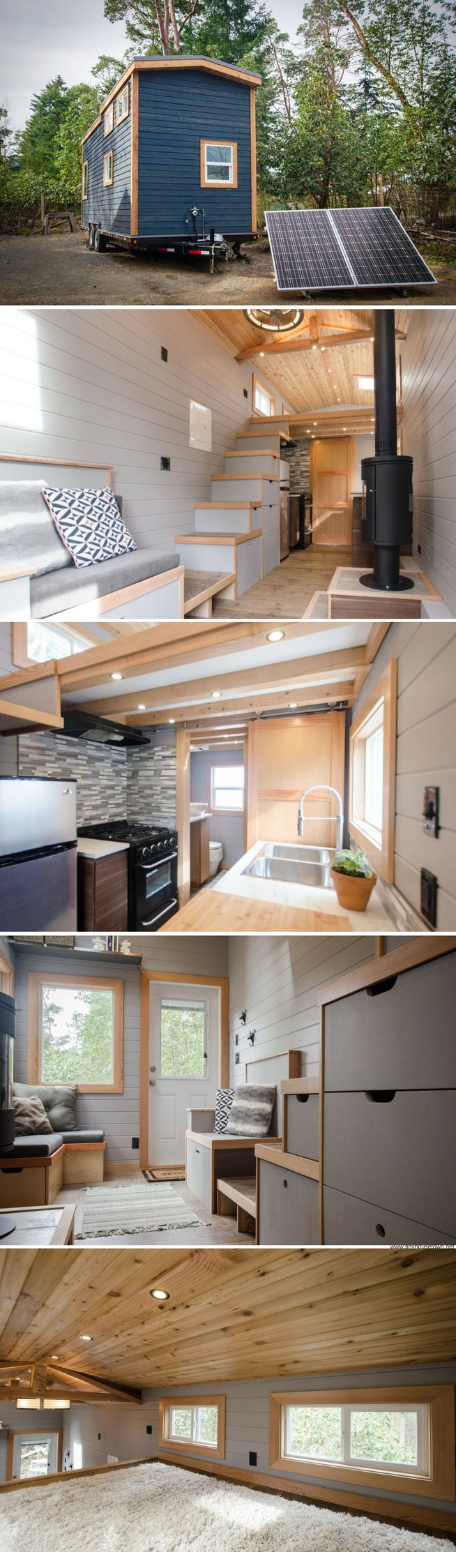 The Blue Heron tiny house (250 sq ft)
