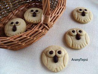 AranyTepsi: Bagolyfiókák vaníliás tésztából