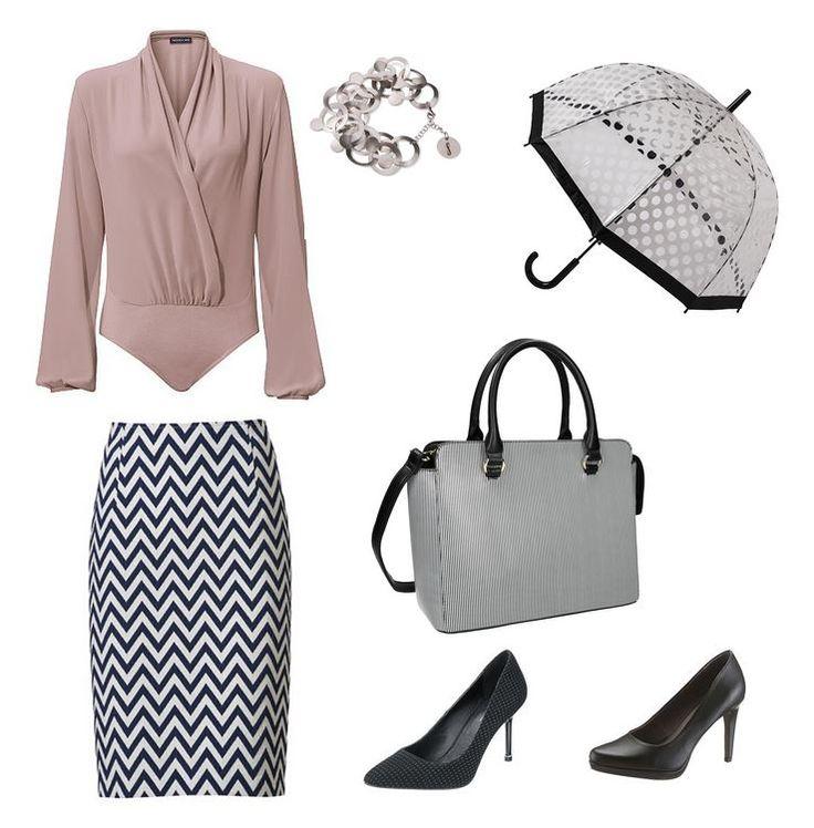 Oblečenie pre moletky - kombinácia vzorov - chewron, bodky, pásiky - vzorovaný outfit pre moletky
