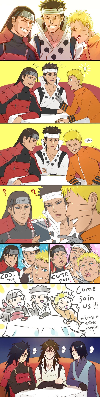 This is too funny. Hashirama x Madara. Sasuke x Naruto. Ashura x Indra.