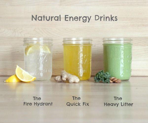 Home made energy drinks are good for us, taste great and natural!!!  AND INEXPENSIVE!!!  Once you get used to making your own and then carrying them to work and play you won't go back!!! Try these and then google more!
