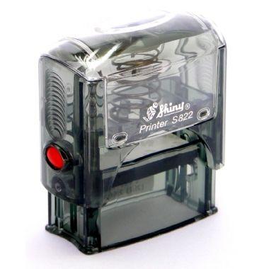 Carimbo Automático Shiny S-822 38x14 (PERSONALIZADO)   Albatroz Papelaria