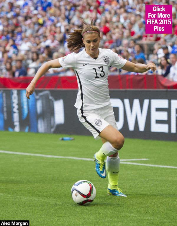 During the FIFA Women's World Cup game on June 22, all eyes were on Alex Morgan, who scored a goal and brought Team USA ahead in the second half! Not surprisingly, she's far from your ordinary soccer player. Here are five things you need to know about her!