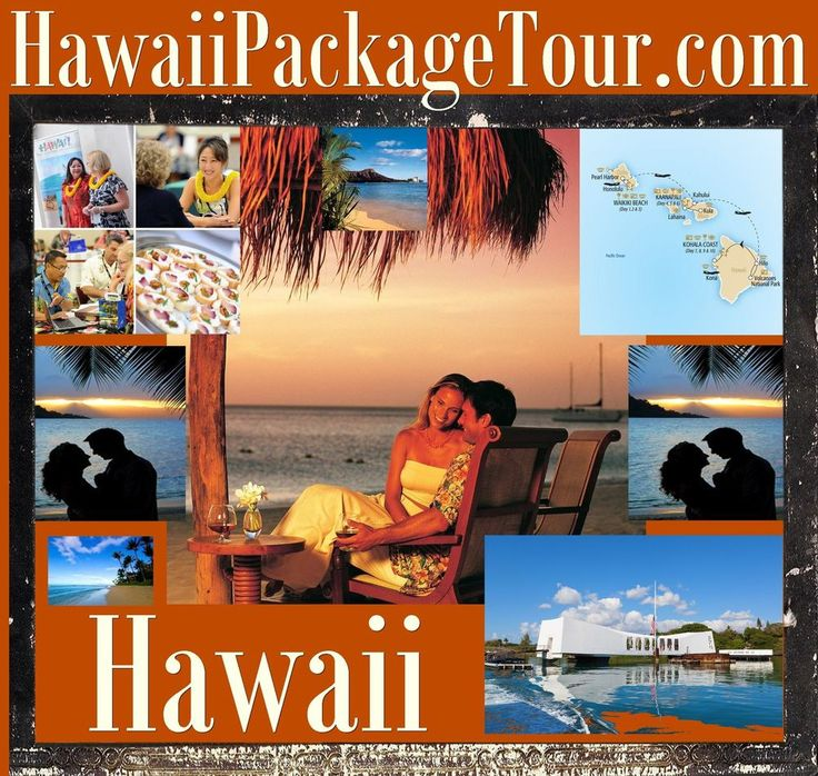 Hawaii Package Tour .com Hotel Island Hula Girls Resorts Bus Trip Helicopter