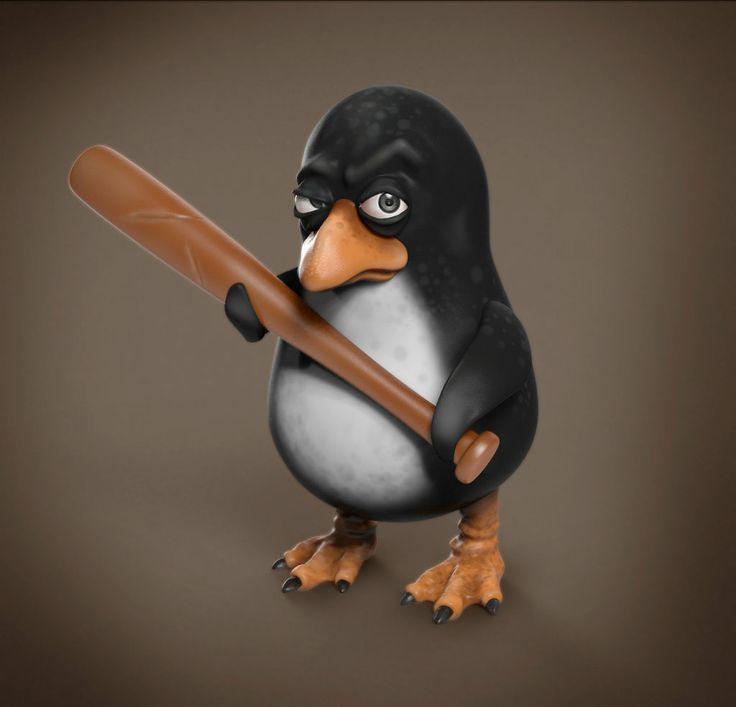 Пингвин смешные картинки, красивая весна