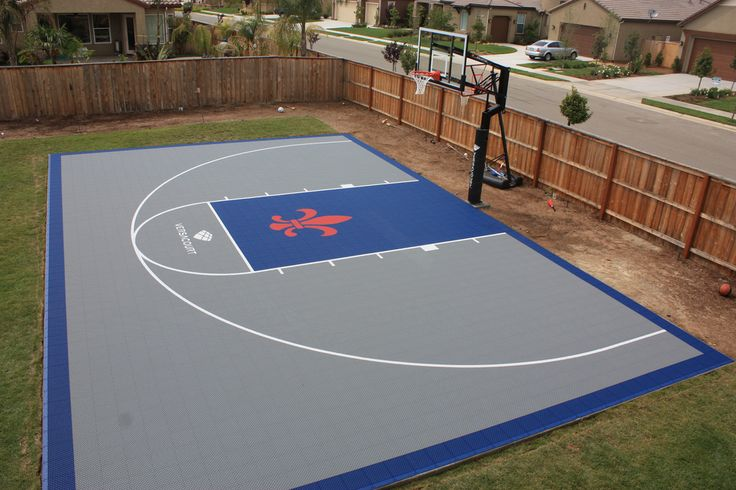 27 best versacourt images on pinterest backyard for Basketball court cost estimate