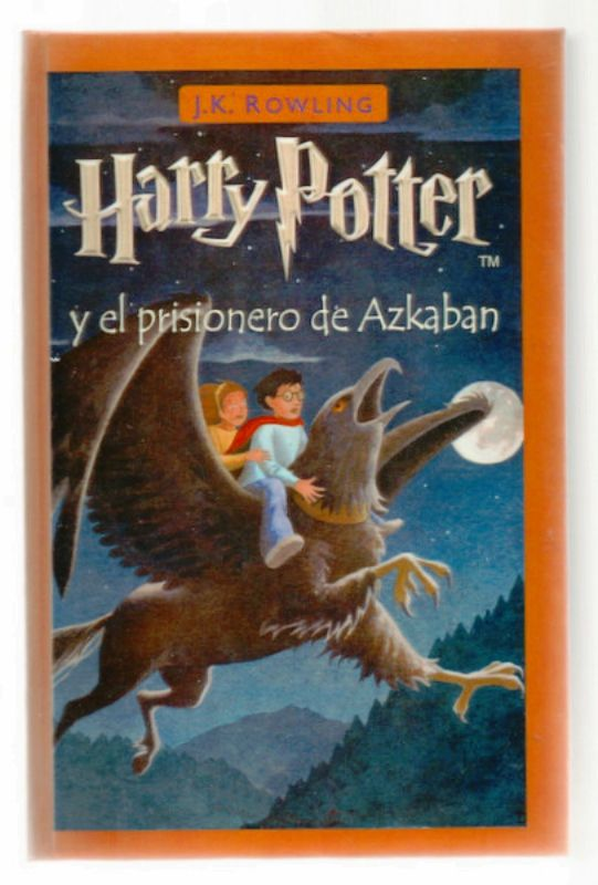 Harry Potter Prisoner of Azkaban in Spanish