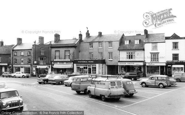 Bicester, Market Square c.1965, from Francis Frith