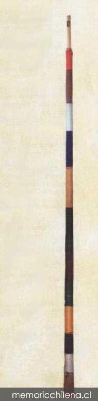 Instrumento Musical Atacameño - El clarín atacameño es un aerófono de origen precolombino, confeccionado de caña y forrado en lana con embocadura lateral, parecido a la embocadura de la flauta traversa.