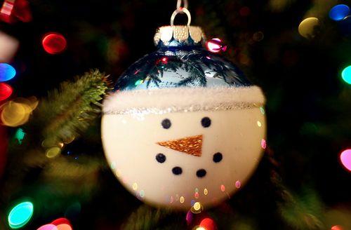 Cute hand-made ornament gift idea...