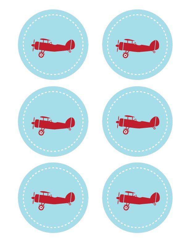 Airplane Printables – download here