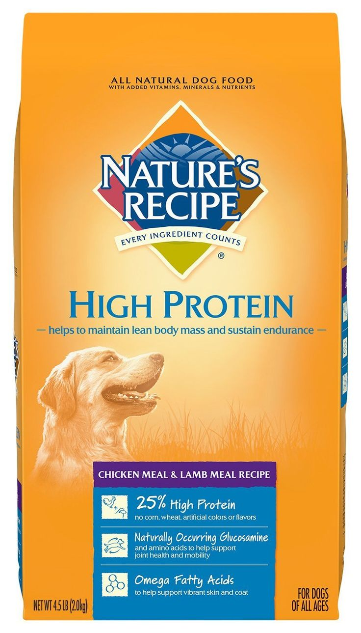 Nature's Recipe High Protein Dry Dog Food - Chicken Meal