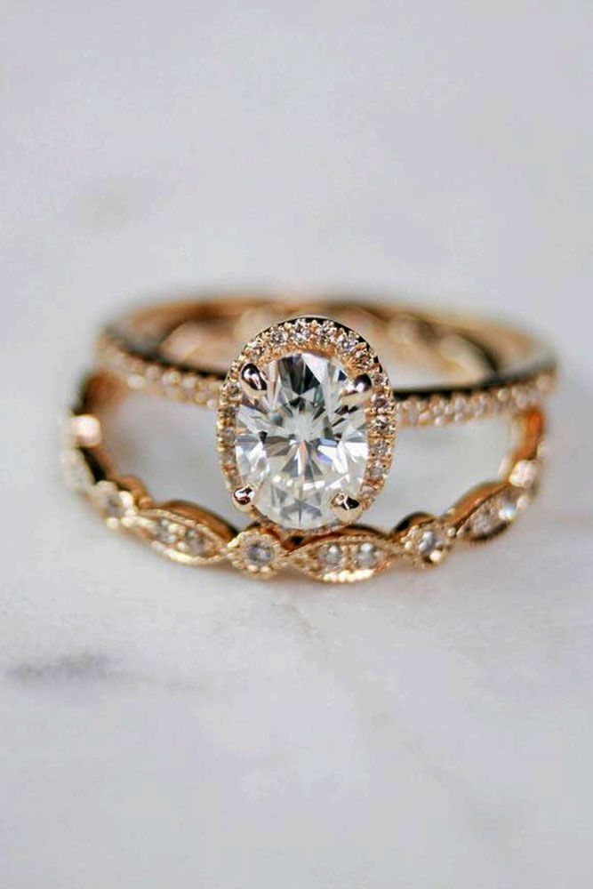 Idée Et Inspiration Bague De Fiançailles Image Description 27 Rose Gold Engagement Rings That Melt