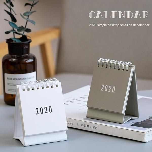 2020 Desktop Calendar Table Calendar Desktop Calendar Table