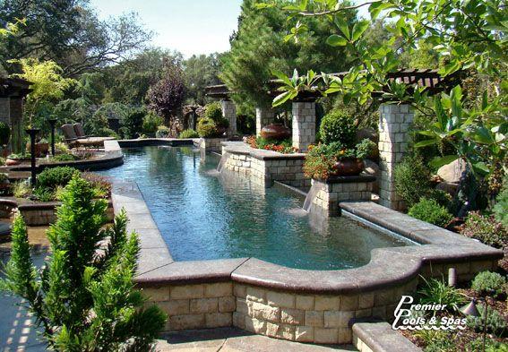 Platinum Swimming Pool Designs | Swimming Pool Contractors | Premier Pools And Spas