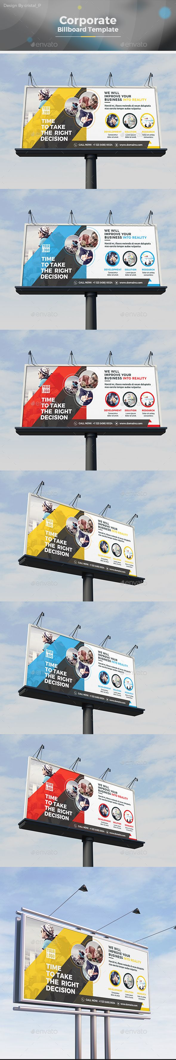Billboard Template Vector EPS, AI Illustrator