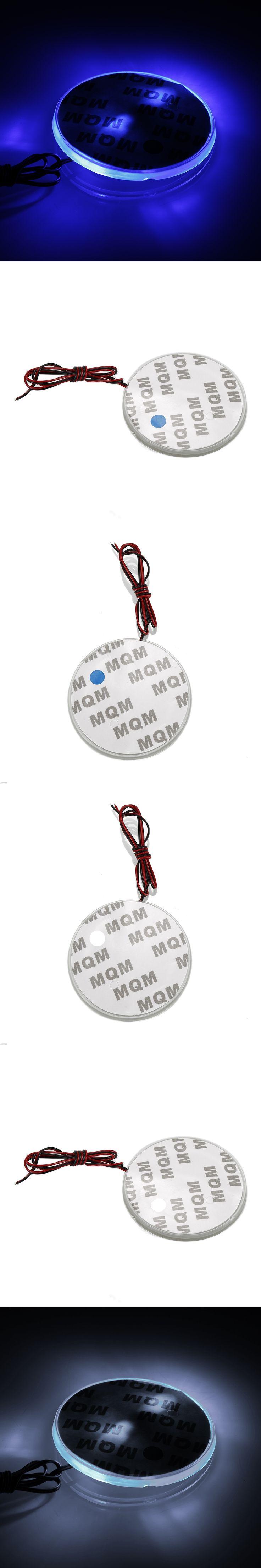 4D Car LED Logo Sticker Rear Badge Light Sticker Emblem Tail Lamp Decor For BMW E90 E60