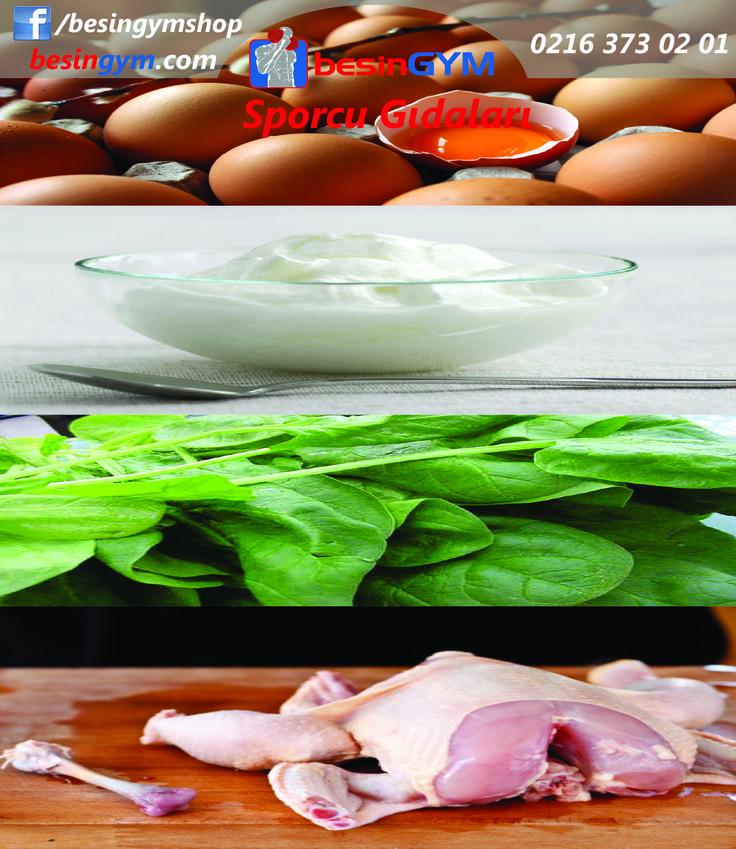Bu dörtlüyü masalardan eksik etmeyin. www.besingym.com
