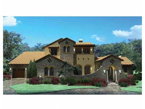 This house has it all guest suite courtyard pool and for House plans with guest suite