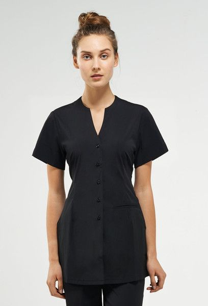 1000 images about spa uniforms on pinterest clogs hair for Spa uniform tunic