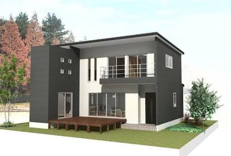 「サイディングのかっこいい家」の画像検索結果