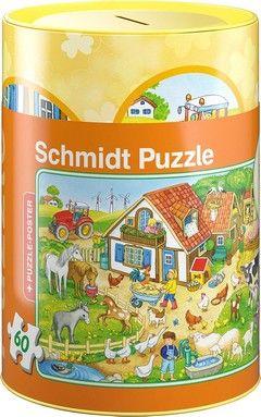 Puzzle Κουμπαράδες Standard-Αγρόκτημα (60 κομ.)