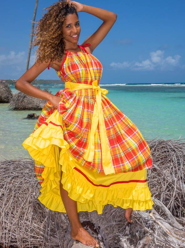 Souvent 71 best robe madras images on Pinterest | Ethnic, African fashion  WK29