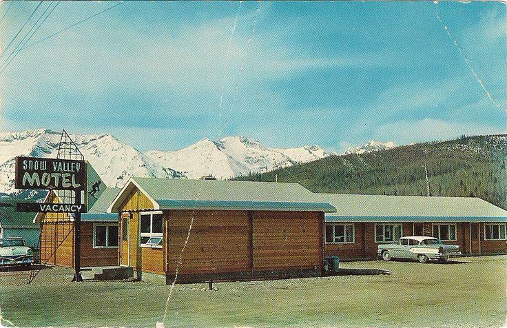 Snow Valley Motel - the first motel in Fernie! #stillgoingstrong #fernieaccommodations #explorebc #ferniestoke #lovefernie #powderhighway