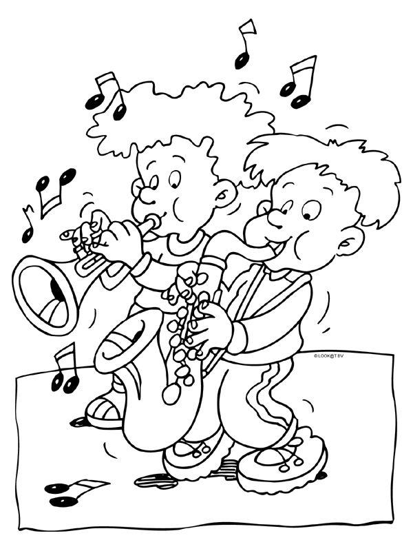 * Trompet & Saxofoon!