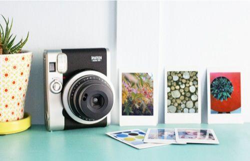 Fujifilm Instax Mini 90 Neo Classic Instant Film Camera IMMA GET THIS FOR MY BDAY