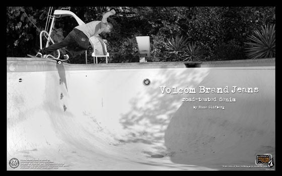 Volcom Brand Jeans featuring Rune Glifberg