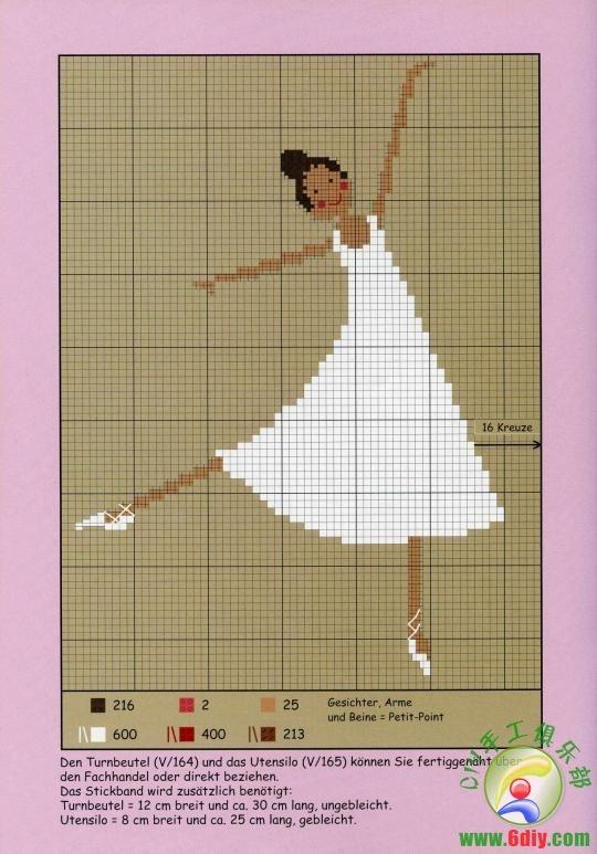 Ballerine2 via La vie est si belle bailarinas patrones  http://www.6diy.com/read.php?tid=171896=8