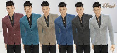 The Sims 4 by Kasia: Odzież męska