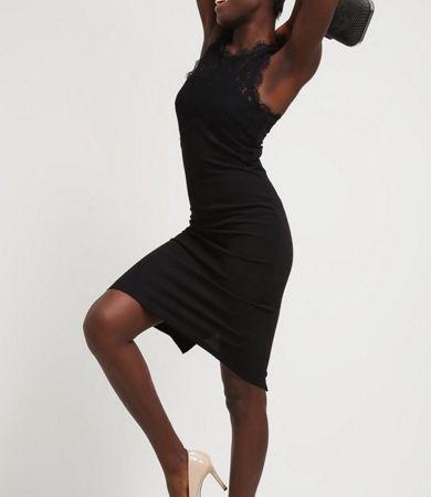 New Look Sukienka z dżerseju black