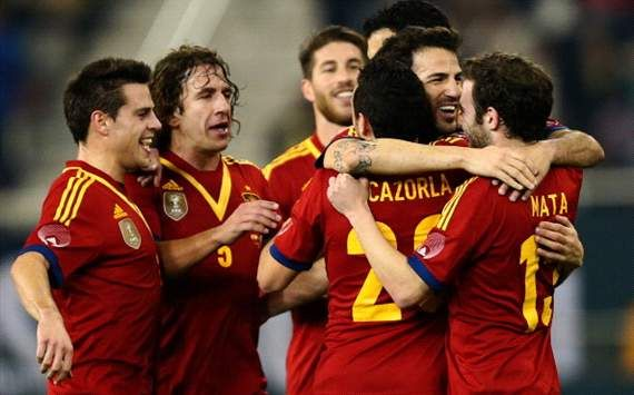 España 3-1 Uruguay.