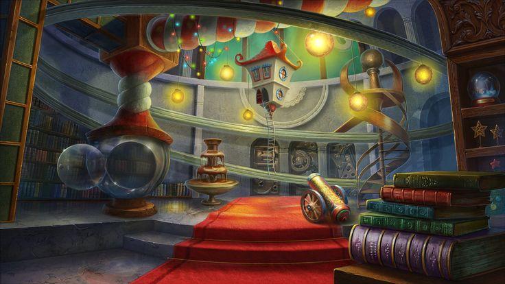 santa's toy factory by Vasilisa-boo.deviantart.com on @DeviantArt