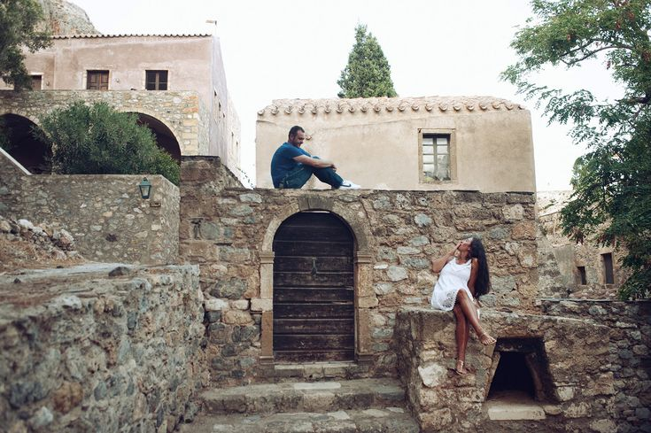 Pre wedding shoot in Monemvasia