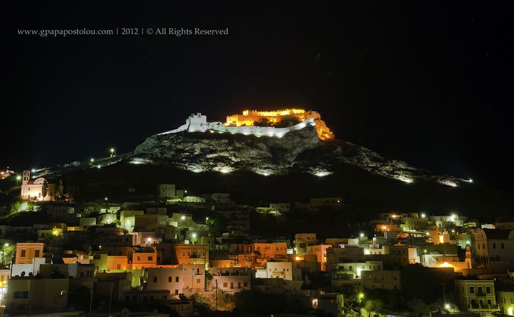 Leros at night by George Papapostolou on 500px