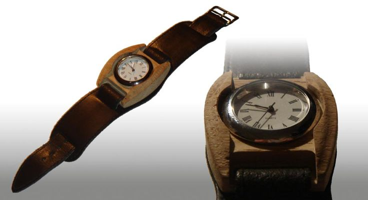 Wooden Watch by Vincent Sawyer