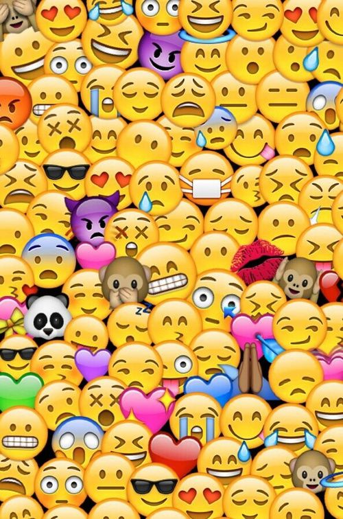 wallpaper, emojis, and emoji resmi