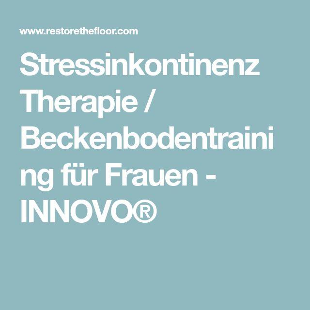 Stressinkontinenz Therapie / Beckenbodentraining für Frauen - INNOVO®