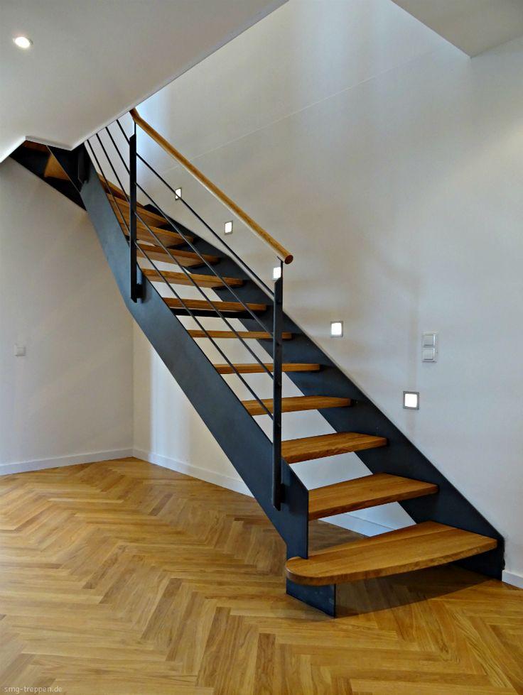die besten 25 holzhandlauf ideen auf pinterest handlauf. Black Bedroom Furniture Sets. Home Design Ideas