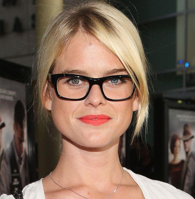 Alice Eve   21 Celebrities Who Prove Glasses Make Women Look Super Hot