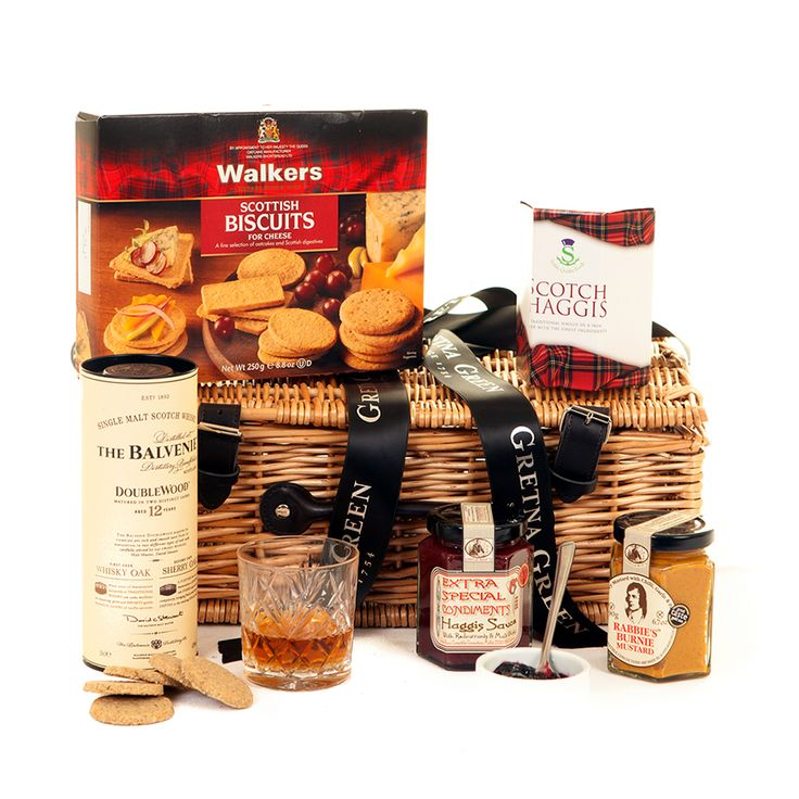 Scottish Tea Time Treats Christmas Hamper